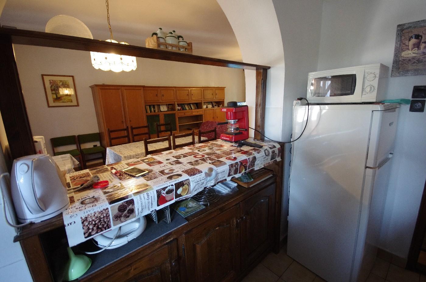 Családi ház - konyhai étkező